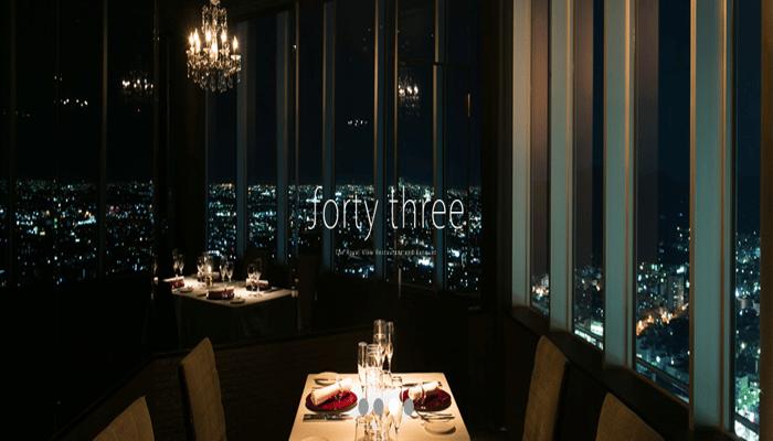 forty three